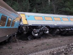 A Train Carrying Nearly 200 Passengers Derailed And Capsized In Australia